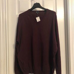 New J.CREW V-Neck Men's Sweater